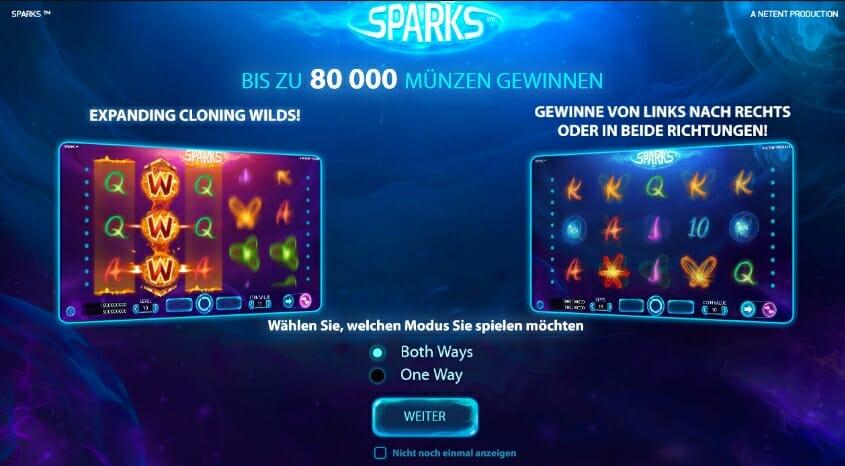 sparks-gewinntabelle