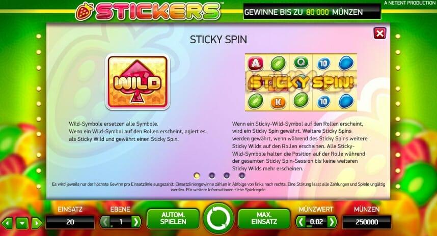 stickers-gewinntabelle