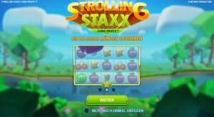 Strolling Staxx Bonus