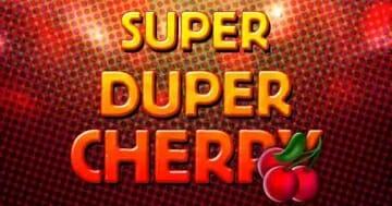 Super Duper Cherry Logo