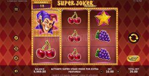 Super Joker Megaways Mobile