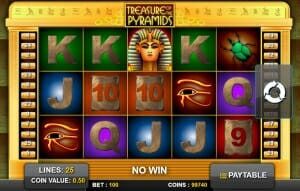 treasures online slot