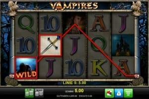 vampires gewinn