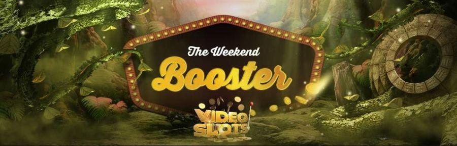 Videoslots Weekend Booster 2021