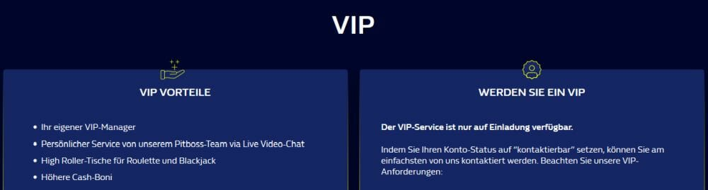 William Hill VIP