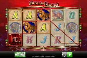World of Circus Gewinne