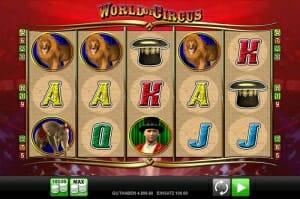 World of Circus Vorschau